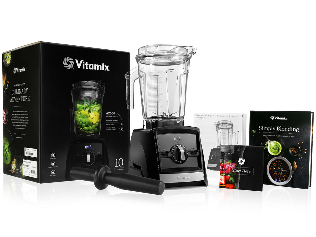 Vitamix A2500 Black Ascent Series Blender w/ FREE Overnight Delivery!