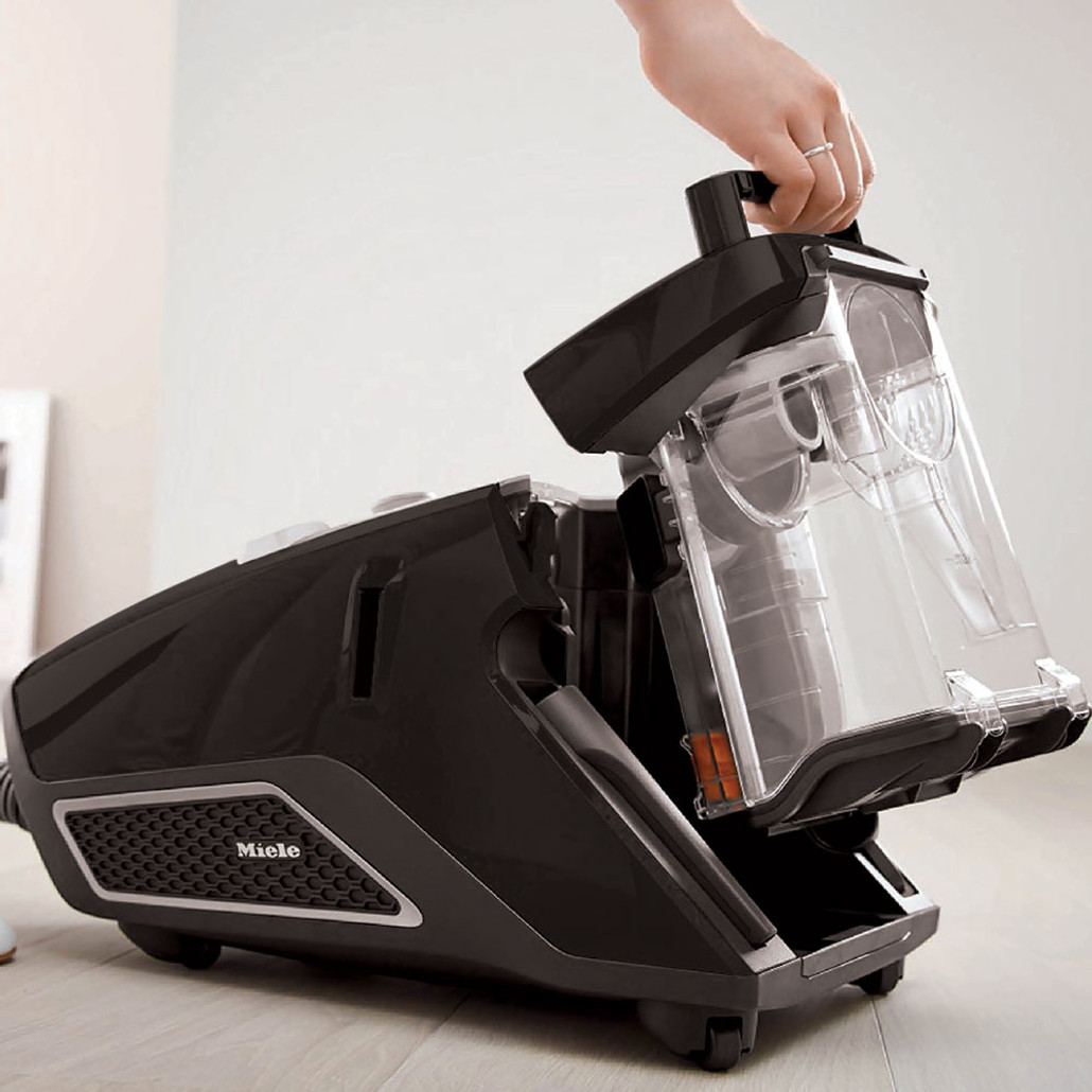 Miele Blizzard CX1 Electro+ Bagless Canister Vacuum Cleaner w/ FREE Overnight Delivery!
