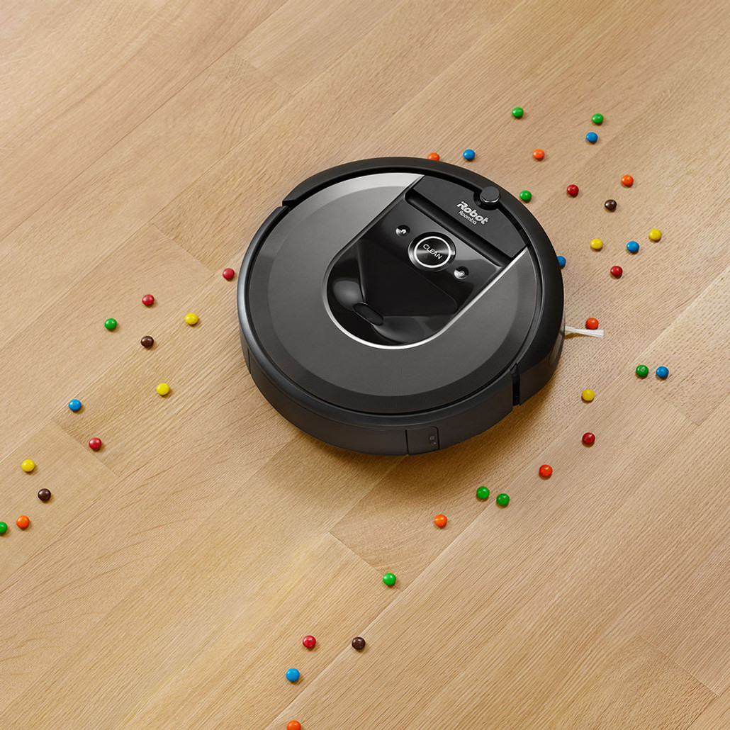iRobot Roomba i7+ ( i7 Plus ) Automatic Robotic Vacuum Cleaner w/ Free Genuine Replenishment Kit ($49.99 Value)