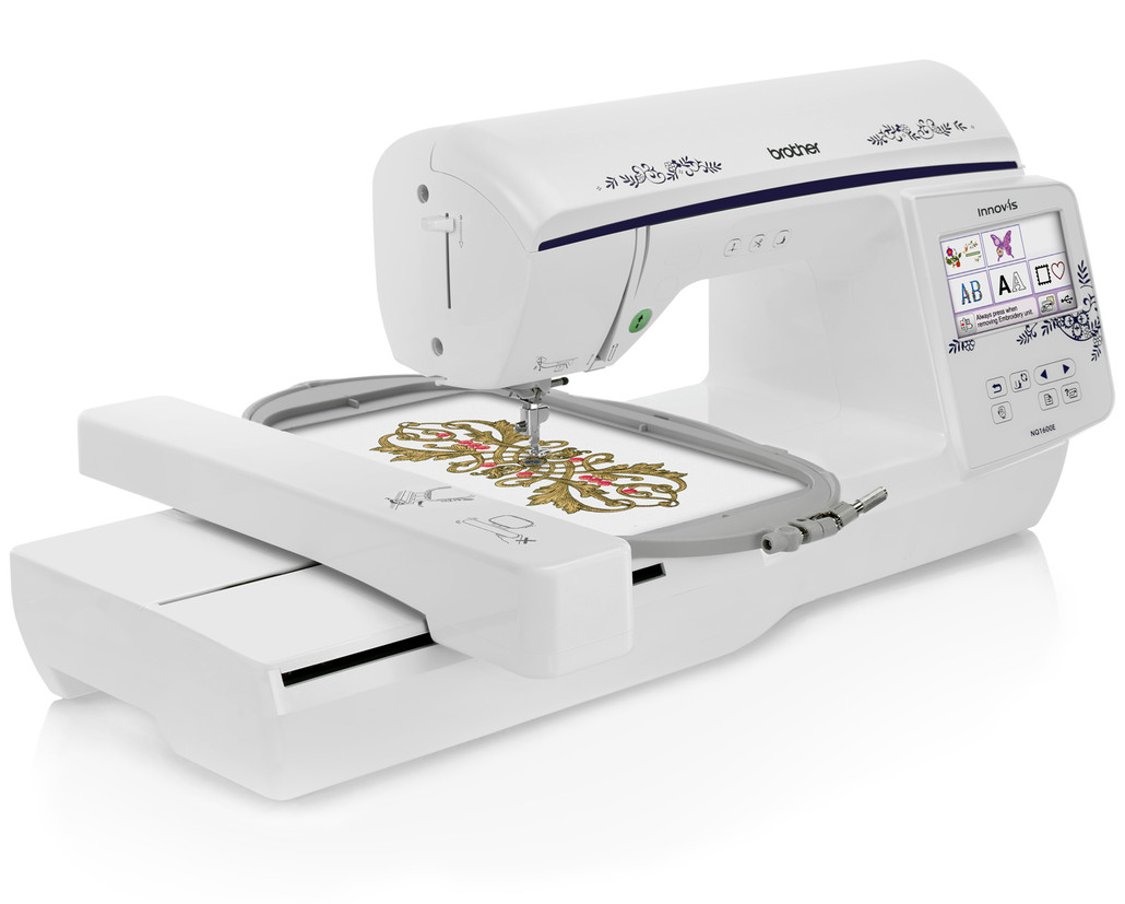 Brother Innov-ís NQ1600E (NQ 1600E) Embroidery Machine / Optional Grand Slam Embroidery Package