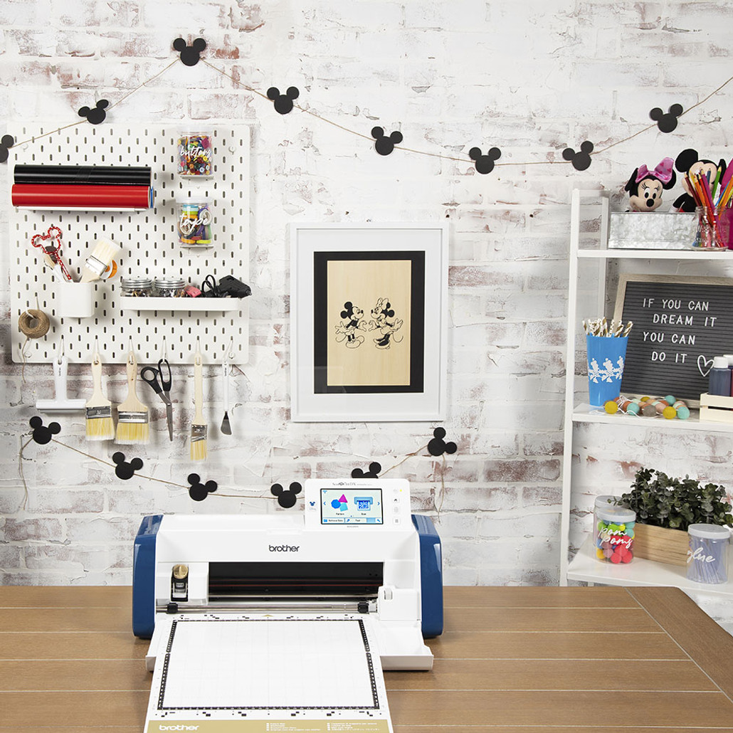 Brother ScanNCut DX Innov-ís SDX230D Limited Edition Disney Electronic Cutting Machine