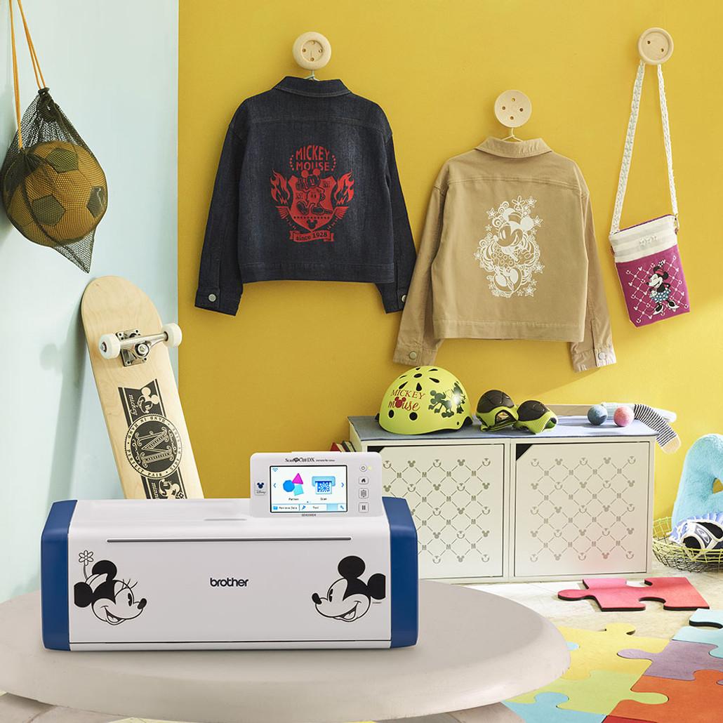 Brother ScanNCut DX Innov-ís SDX230DX Limited Edition Disney Electronic Cutting Machine