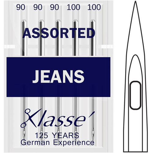Klasse Jeans / Denim Assorted Sewing Needles