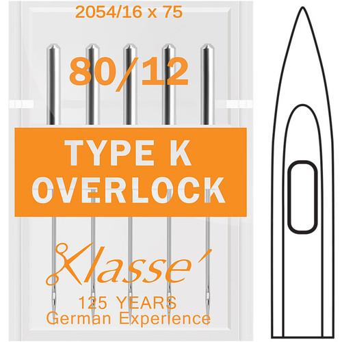 Klasse Overlock Type K 80-12 Sewing Needles