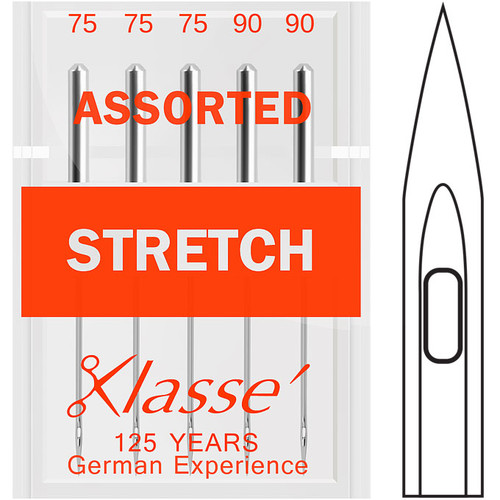 Klasse Stretch Assorted Sewing Needles