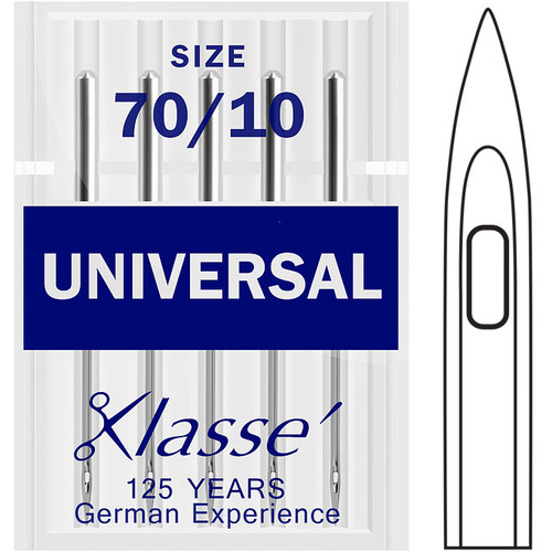 Klasse Universal 70-10 Sewing Needles