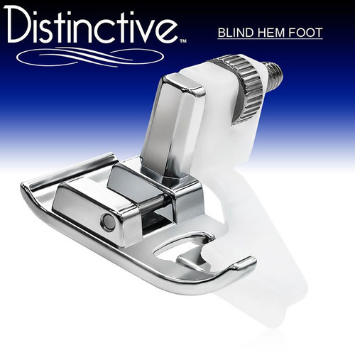 Distinctive Blind Hem Sewing Machine Presser Foot w/ Free Shipping