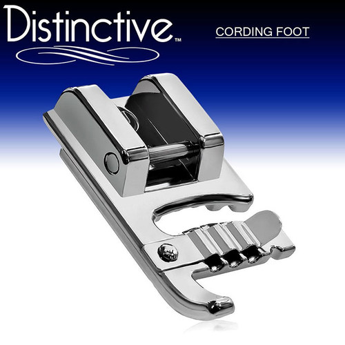 Distinctive Cording Sewing Machine Presser Foot w/ Free Shipping
