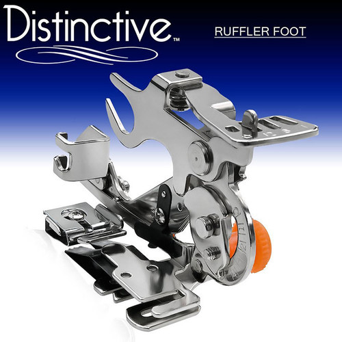 Distinctive Ruffler Sewing Machine Presser Foot w/ Free Shipping
