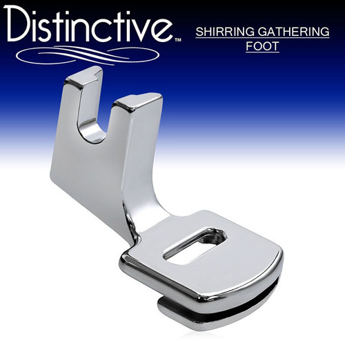 Distinctive Shirring Gathering Sewing Machine Presser Foot w/ Free Shipping