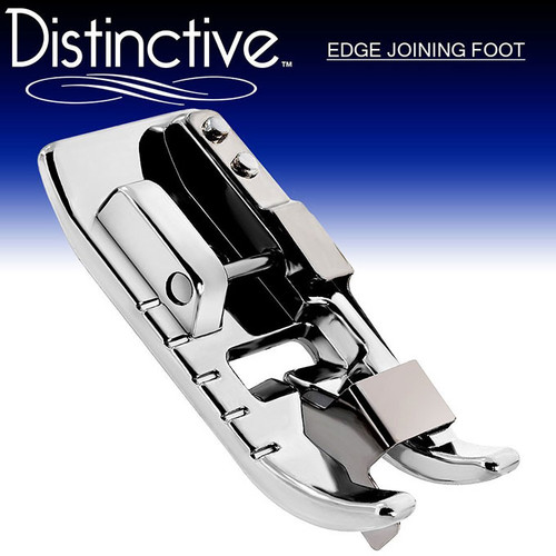 Distinctive Edge Joining / Stitch in the Ditch Sewing Machine Presser Foot w/ Free Shipping