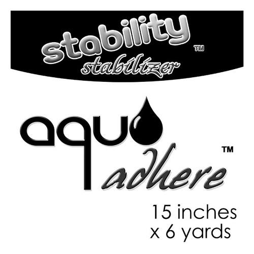 """Stability Stabilizer - Aqua Adhere 15"""" x 6 Yard Roll"""