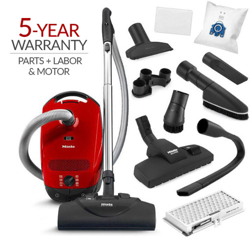 Miele Classic C1 HomeCare Canister Vacuum Cleaner & SEB 228 Powerhead w/ 5-Year Warranty!