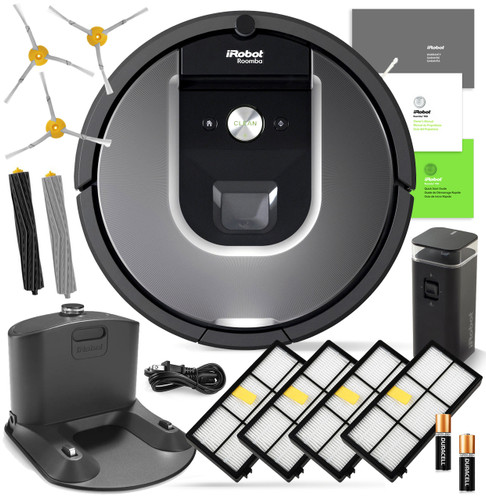 IRobot Roomba 960 Automatic Robotic Vacuum Cleaner w/ Free Genuine Replenishment Kit ($49.99 Value)