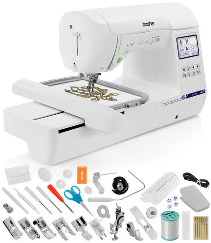 Brother SE1900 (SE 1900) Sewing and Embroidery Machine / Optional Grand Slam Embroidery Package