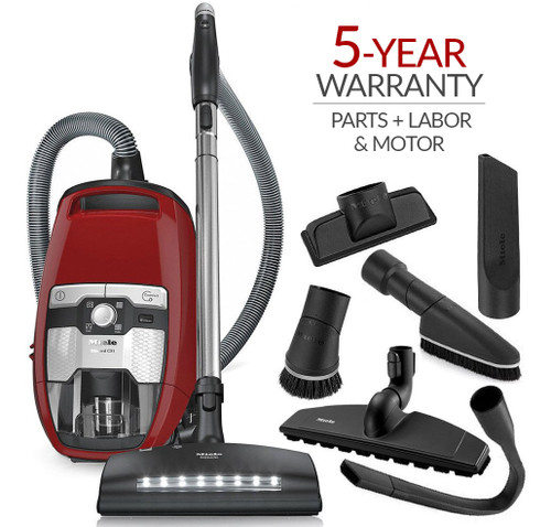 Miele Blizzard CX1 HomeCare Bagless Canister Vacuum Cleaner w/ 5-Year Warranty!