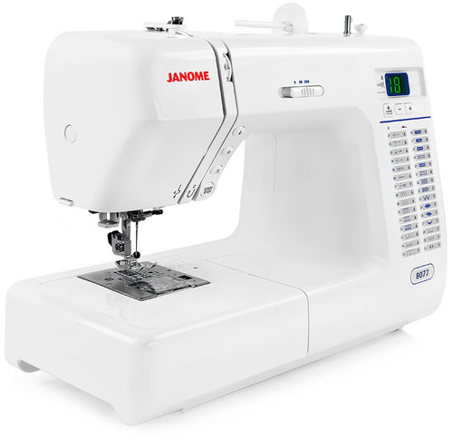 Janome 8077 30-Stitch Computerized Sewing Machine w/ FREE! 2nd-Day Shipping