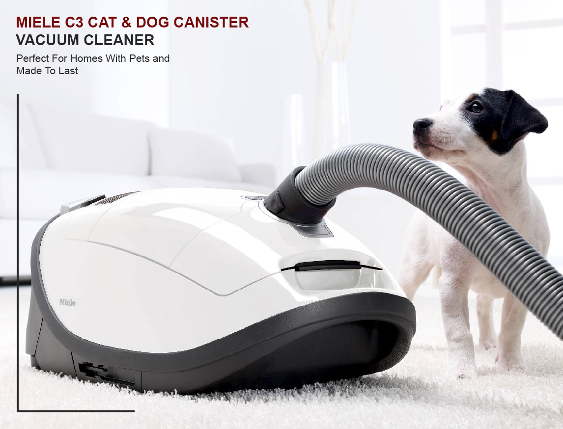 Miele C3 Cat and Dog Canister