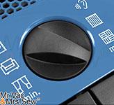 Suction Control Via Rotary Dial