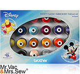Included Free! Disney Embroidery Thread Kit