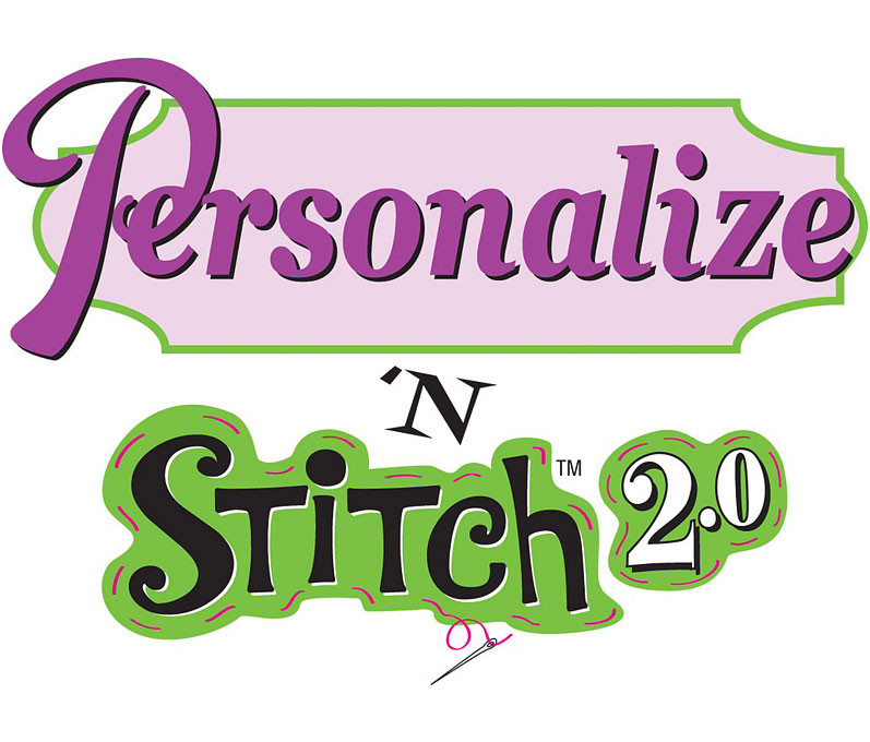 Amazing Designs Personalize N Stitch 2 0 Embroidery Software w/ Lettering,  Monogramming and More!