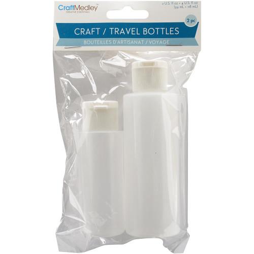 Craft/Travel Bottles 2/Pkg