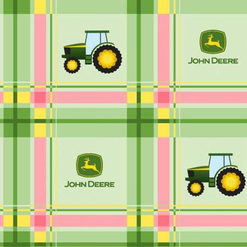 John Deere Plaid