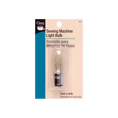 Sewing Machine Push-In Light Bulb