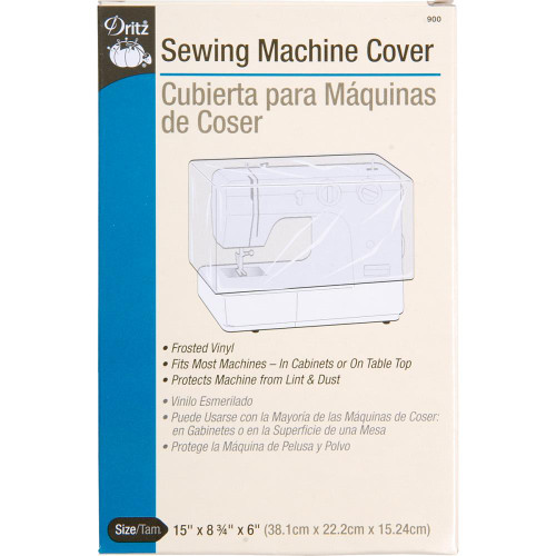 FROSTED SEWING MACHINE COVER