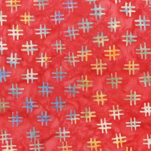 Apple Hash Tags Batik