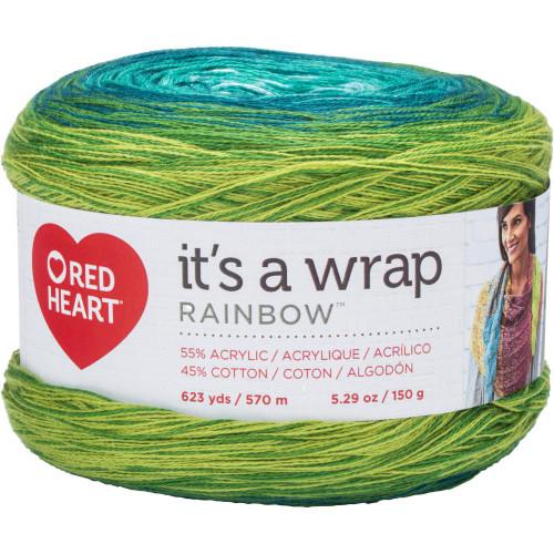 Seaglass It's A Wrap Rainbow Yarn