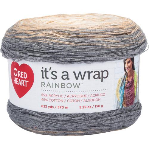 Foggy It's A Wrap Rainbow Yarn