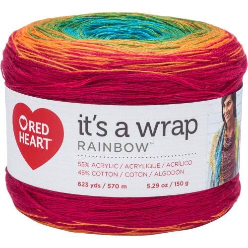 Fiesta It's A Wrap Rainbow Yarn