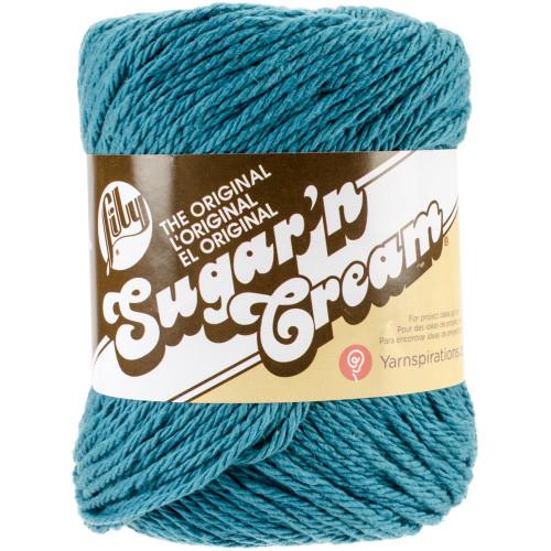 Teal Lily Sugar'n Cream Yarn
