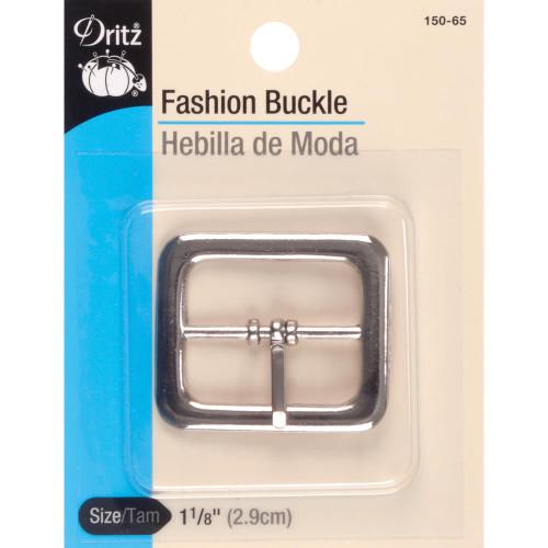 NICKEL 1/P-BUCKLE W/FIXED TINE