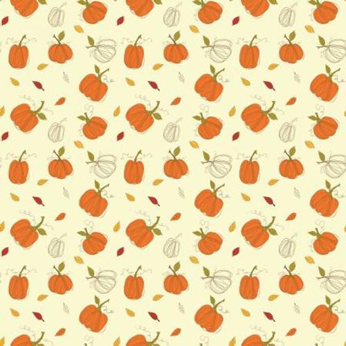 Cream Autumn Pumpkins
