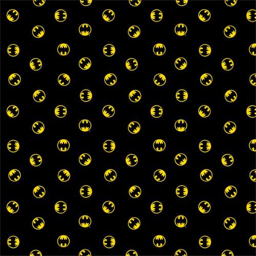 Black DC Batman Logo