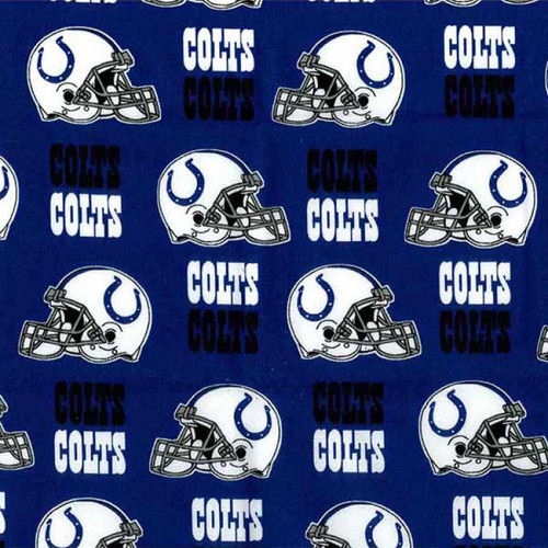 Blue Indianapolis Colts Cotton 60in