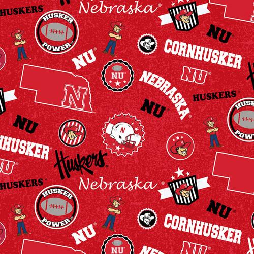 NCAA Nebraska Huskers Home State Cotton