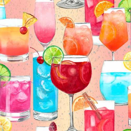 Multi Mix Mixed Drinks Glitter