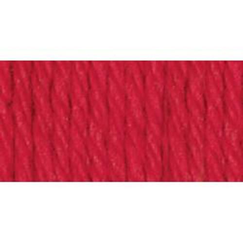 RED Solid Lily Sugar'n Cream Yarn