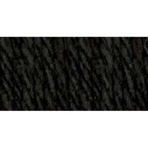 BLACK Solid Lily Sugar'n Cream Yarn