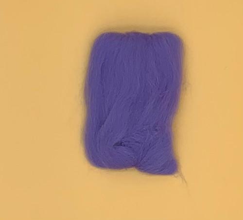 """Lavender Wool Roving 12"""" .22oz"""