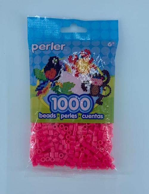 MAGENTA PERLER BEAD BAG 1000