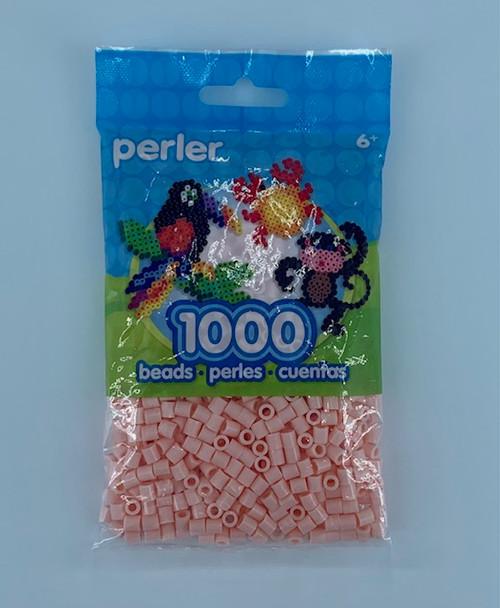 PEACH PERLER BEAD BAG 1000