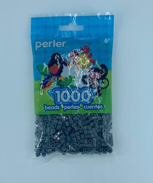 DARK GREY PERLER BEAD BAG 1000