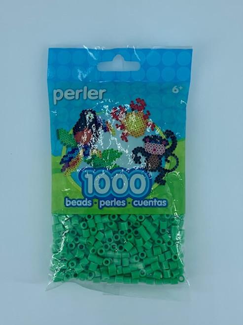 BRIGHT GREEN PERLER BEAD BAG 1000