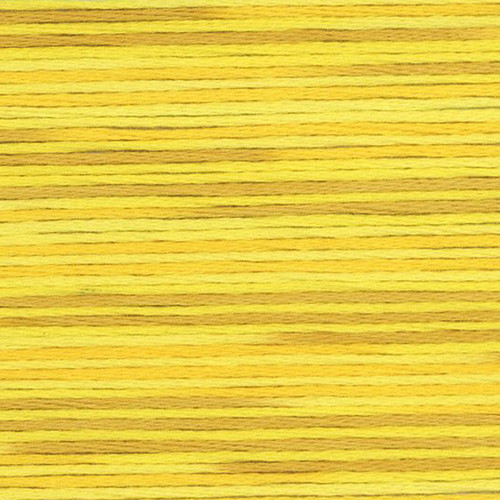 Yellow Cosmo Seasons Variegated Embroidery Floss