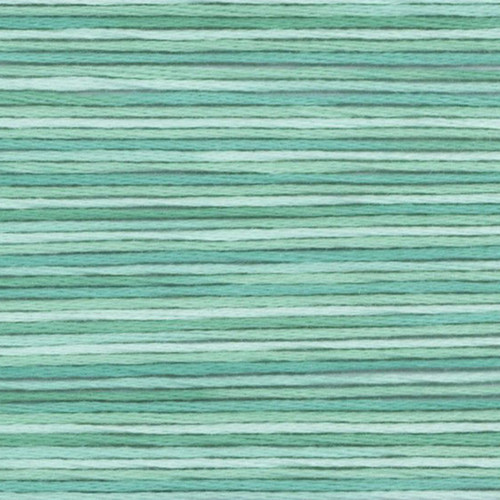 Teal Cosmo Seasons Variegated Embroidery Floss
