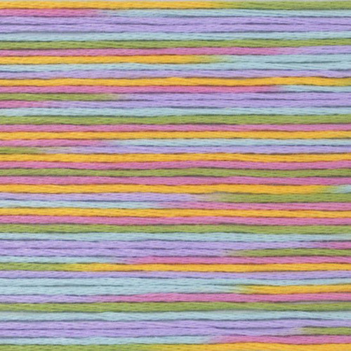 Multi Cosmo Seasons Variegated Embroidery Floss